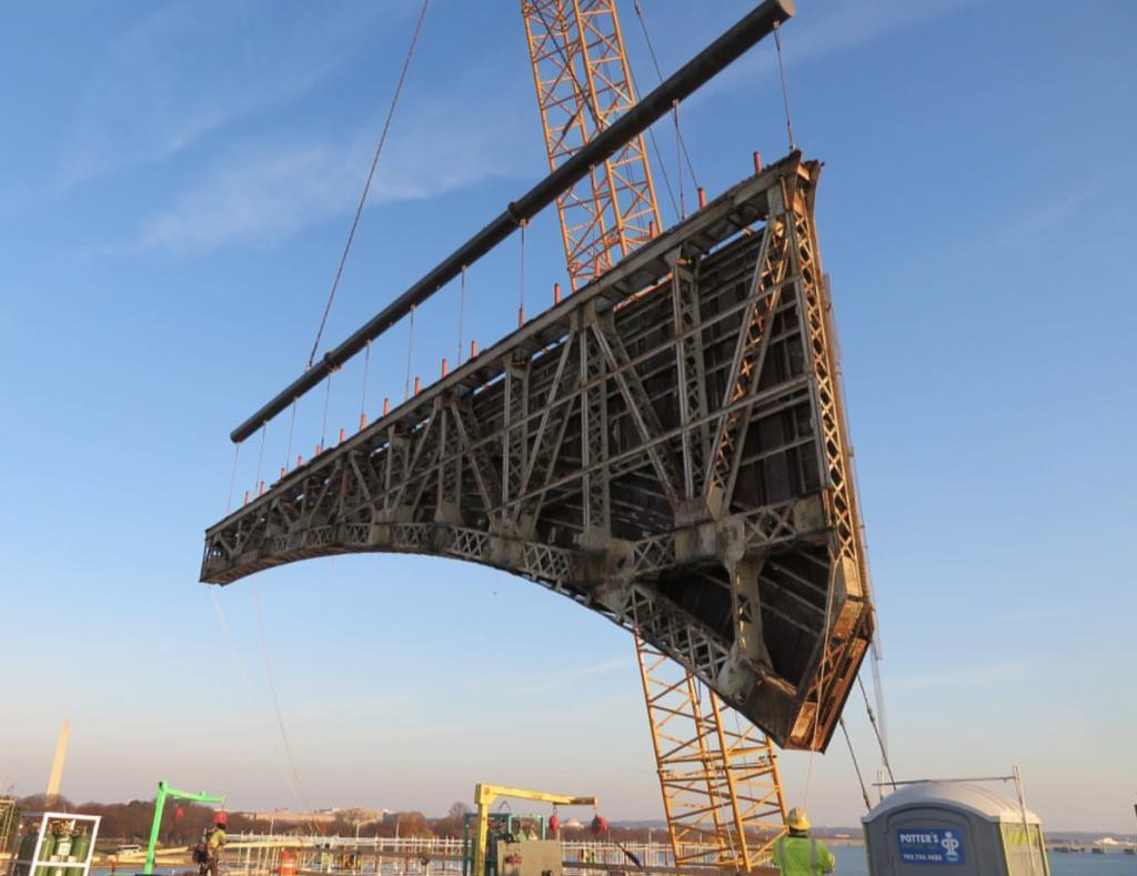 civil concrete bridge demolition by CTS