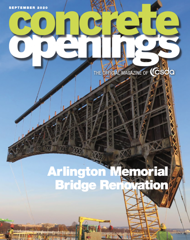 The cover of the CSDA magazine featuring this project by CTS
